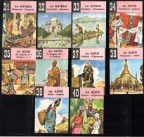 Menier, Série Voyage : 10 Images : Delhi, Indore, Peshavar, Kaboul, Bombay, Karatchi, Bassorah, Oudaïpour. - Menier