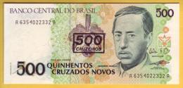 BRESIL - Billet De 500 Cruzeiros Sur 5000 Cruzados Novos. (1990). Pick: 226b. NEUF - Brazil