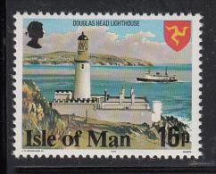 Isle Of Man MNH Scott #125a 16p Douglas Head Lighthouse, Perf 14.5 - Man (Ile De)