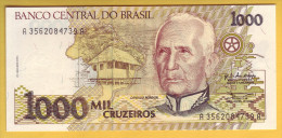 BRESIL - Billet De 1000 Cruzeiros. (1990-91). Pick: 231b. NEUF - Brazil