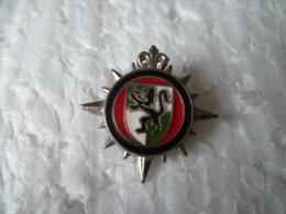 Pin�s :  insigne /  blason - Lion  - militariat ! ville ! a definir !!! .....