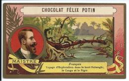 France Maistre Oubanghi Congo Niger Chocolat Félix Potin TB - Félix Potin