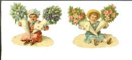 Lot De 2 Chromo-decoupi : Missives Bébé - Enfants