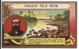 France Victor Largeau Congo Loango Félix Potin TB - Félix Potin