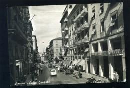 T1906 CARTOLINA ANCONA CORSO GARIBALDI - Ancona