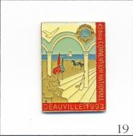 Pin�s  Associations - Lions Club / 1993 - 42� Convention Nationale � Deauville (14). Est. JYC. Epoxy. T259-19