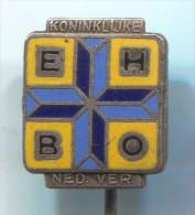EHBO KONINKLIJKE - Netherlands, enamel, vintage pin, badge