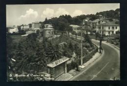 T1921 CARTOLINA VITERBO SAN MARTINO AL CIMINO VIA UMBRIA - Viterbo