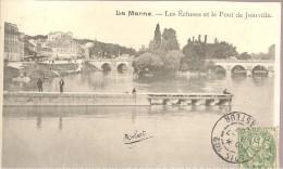 La Marne Et Le Pont De JOINVILLE - Animé - Joinville