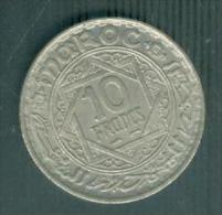 MOROCCO 10 Francs 1366 (1947) - MAROC EMPIRE CHERIFIEN   - Pia9409 - Marruecos