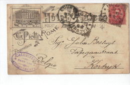 G.Piotti Rome (Litho Kahn Hass,Milano 1893!! ) - Roma (Rome)