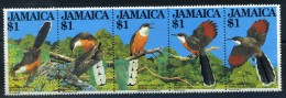 JAMAICA: YVERT N° 563/7; Oiseaux; Birds; Vögel; Tacco De Jamaïque LUXE **MNH - Koekoeken En Toerako's