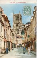 77 MEAUX Rue Saint Rémy - Colorisée - Meaux