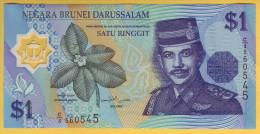 BRUNEI - Billet De 1 Ringgit. (1996). Billet En Polymère; Pick: 22. NEUF - Brunei