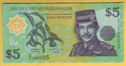BRUNEI - Billet De 5 Ringgit. (1996). Billet En Polymère; Pick: 23. NEUF - Brunei