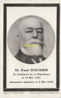 CPA M PAUL DOUMER ELU PRESIDENT DE LA REPUBLIQUE - Hommes Politiques & Militaires