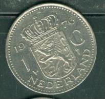 Pays Bas  -  NETHERLANDS 1 Gulden 1976 - Pia9502 - [ 3] 1815-…: Königreich Der Niederlande