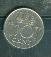 PAYS-BAS 1977 - 10 CENT CENTS PAYS-BAS - JULIANA - NETHERLANDS - NEDERLANDEN - Pia9503 - 1948-1980 : Juliana