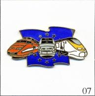 Pin´s Transport - Les TGV Européens. Est. AC TGV 1992. EGF. T263-07 - TGV