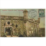 CBATP0881-LFT6027TBAA. TARJETA POSTAL DE CUBA.Antiguas Murallas De Defensa Con Guardia,de LA HABANA.circulada - Antigüedad