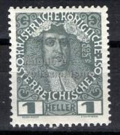 MC  1908  Autriche 1h  mh*  Y&T 101