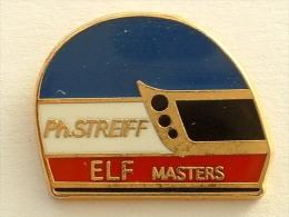 PIN´S CASQUE PHILIPPE STREIFF ELF MASTER - F1