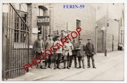 FERIN-Bureau Du Sous-Officier De Police-Carte Photo Allemande-Guerre 14-18-1WK-Frankreich-France-59- - Douai
