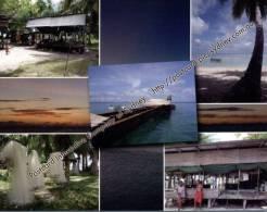 1 X Tuvalu Island Fishing Village - Village De Pêcheur Sur Les Iles De Tuvalu - Tuvalu