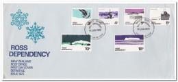 Ross 1972, FDC, Antarctica - FDC