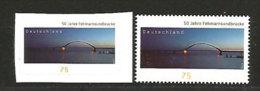 ALLEMAGNE. Fehmarn Sound Bridge (FEHMARN ISLAND). 2 T-p Neufs ** Inclus Adhesif. - Ponti