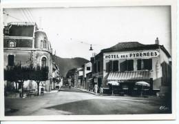 (65) LOURES-BAROUSSE (Htes-Pyr.) Rue Nationale    (Hôtel Des Pyrénées) - Altri Comuni