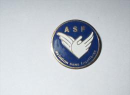 pin's Association ASF (Aviation Sans Fronti�res)