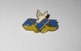 pin's logo - Association ASF (Aviation Sans Fronti�res) zamac