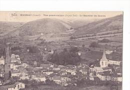 24224 MASSIAC - Vue Panoramique (côté Sud) - Quartier Du Centre 1453 MB - France