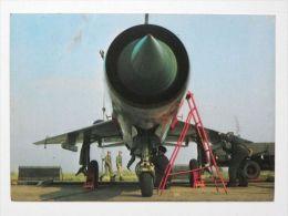 MiG 21 Fighter   Polish Postcard - 1946-....: Moderne