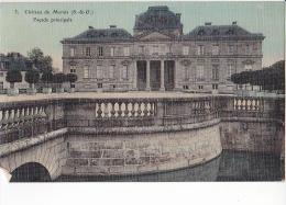 24225 Lot De 8 Cpa, Chateau Du Maris, Dourdan, Piece D'eau, Facade Nord Principale, Ed : Bontroue, Bougardier Colorisée - France