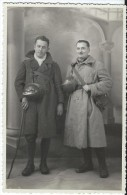 Carte Postale /Photographie/ Deux Soldats En Tenue De Campagne , Avec Casques/  1939? PH218 - Militaria
