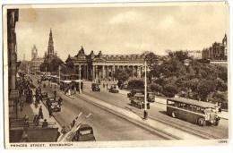 CARTOLINA EDINBURGO EDINBURGH - SCOZIA  - PRINCES STREET - Cartes Postales