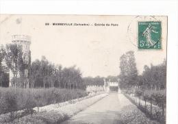 24230 MANNEVILLE Entrée Du Parc -69 Cliché CG - Non Classés