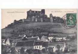 24231 Lot 3 Cpa -MUROLS, Ruines Tour Chateau 4787 VDC- Lac Chambon Vallée 331 Ed? 23 Chateau  Ed Adam - France