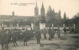 CAEN LE MARCHE AUX BESTIAUX PLACE DU PARC - Caen