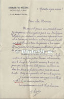 Courrier + Formulaire D'inscription Au Séminaire Des Missions - LAYRAC (Lot-et-Garonne) - Francia