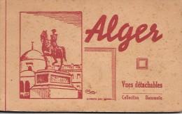 ALGERIE - ALGER - Carnet De 9 Cartes Postales - Alger