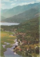 K1958 Fondotoce - Verbania - Panorama Con Il Lago Mergozzo - Veduta Aerea Vue Aerienne Aerial View / Viaggiata 1983 - Verbania