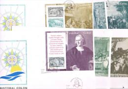 11107.  Coleccion Completa F.D.C. Barclona 1992. Hojitas COLON Y El Descubrimiento - FDC