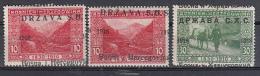 Yugoslavia Bosnia SHS Lot Of Stamps With Shifted Overprints - 1919-1929 Königreich Der Serben, Kroaten & Slowenen
