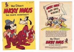 Walt Disney's 1952 Mickey Mouse Feb. No.2 German Language 16 Colour Pages - Walt Disney