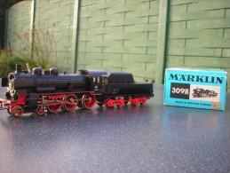 HO Marklin Locomotive Vapeur P8 --38 1807 - Locomotives