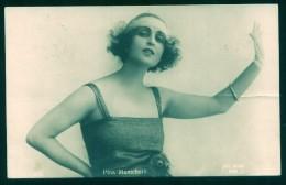 ATTRICE PINA MENICHELLI - 1928 - CARTOLINA VIAGGIATA SPEDITA DA NOEPOLI - Acteurs