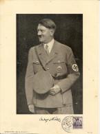 1938 - A.HITLER, Foto 17,5X24cm Gute Zustand, 4 Scan - Guerra 1939-45
